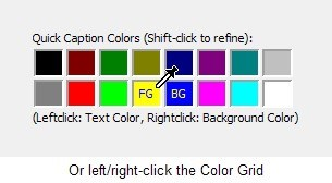 Select text colors